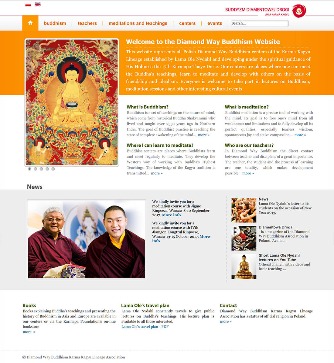 Buddism forening<div style='clear:both;width:100%;height:0px;'></div><span class='cat'>Joomla</span>