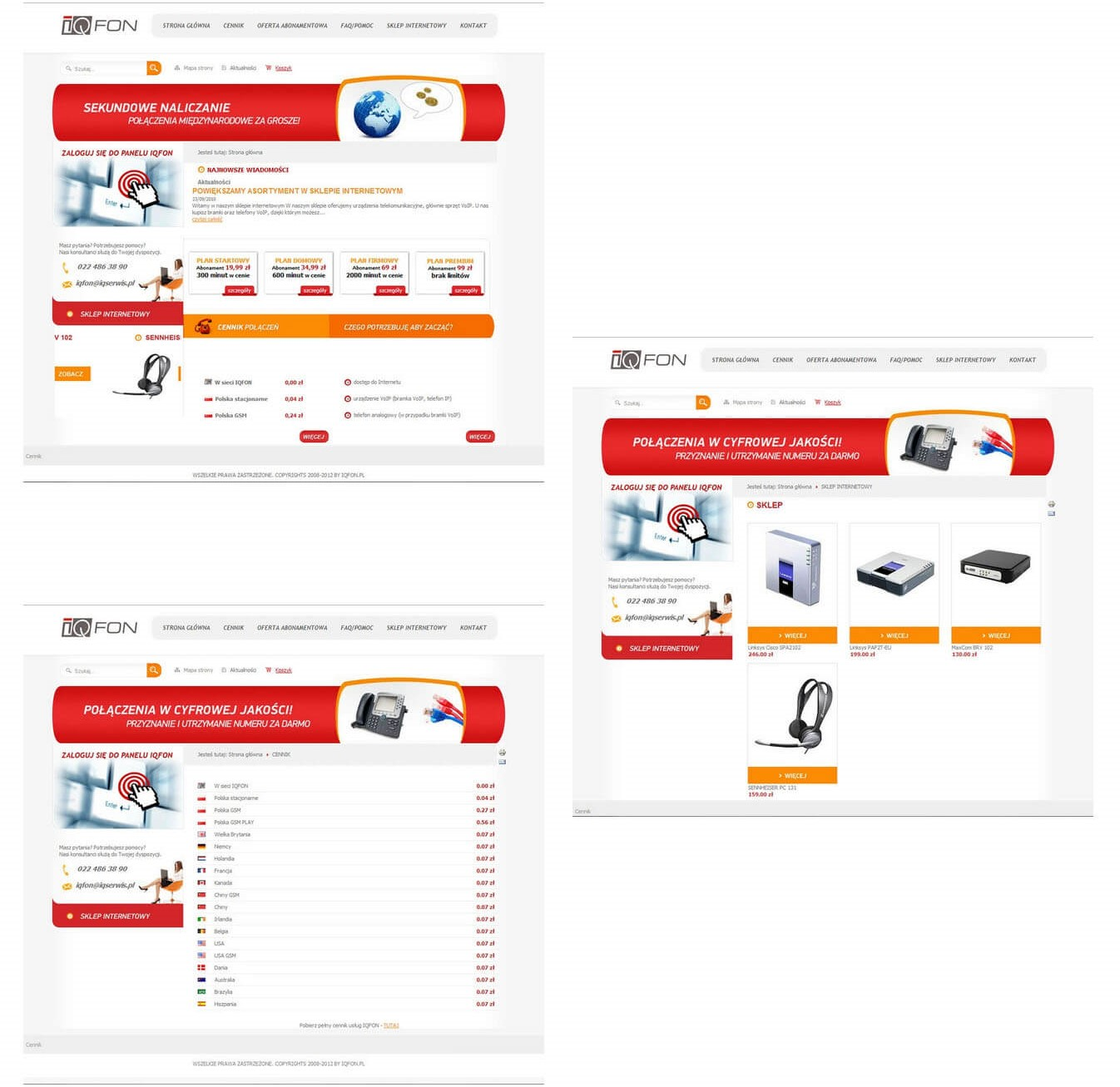 IQFon<div style='clear:both;width:100%;height:0px;'></div><span class='cat'>Joomla, E-shops</span>