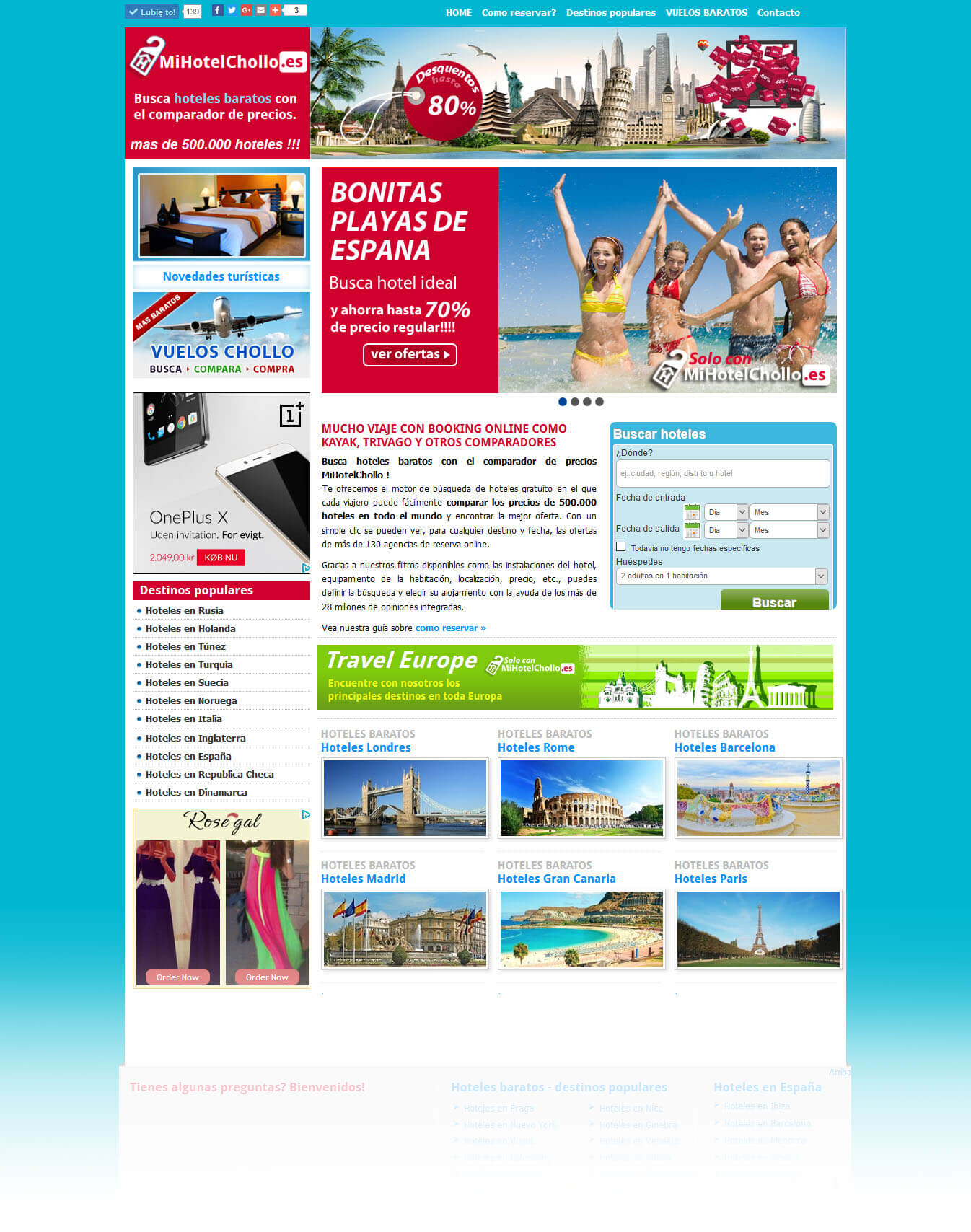 Hotel booking<div style='clear:both;width:100%;height:0px;'></div><span class='cat'>Joomla, Rejse hjemmesider</span>