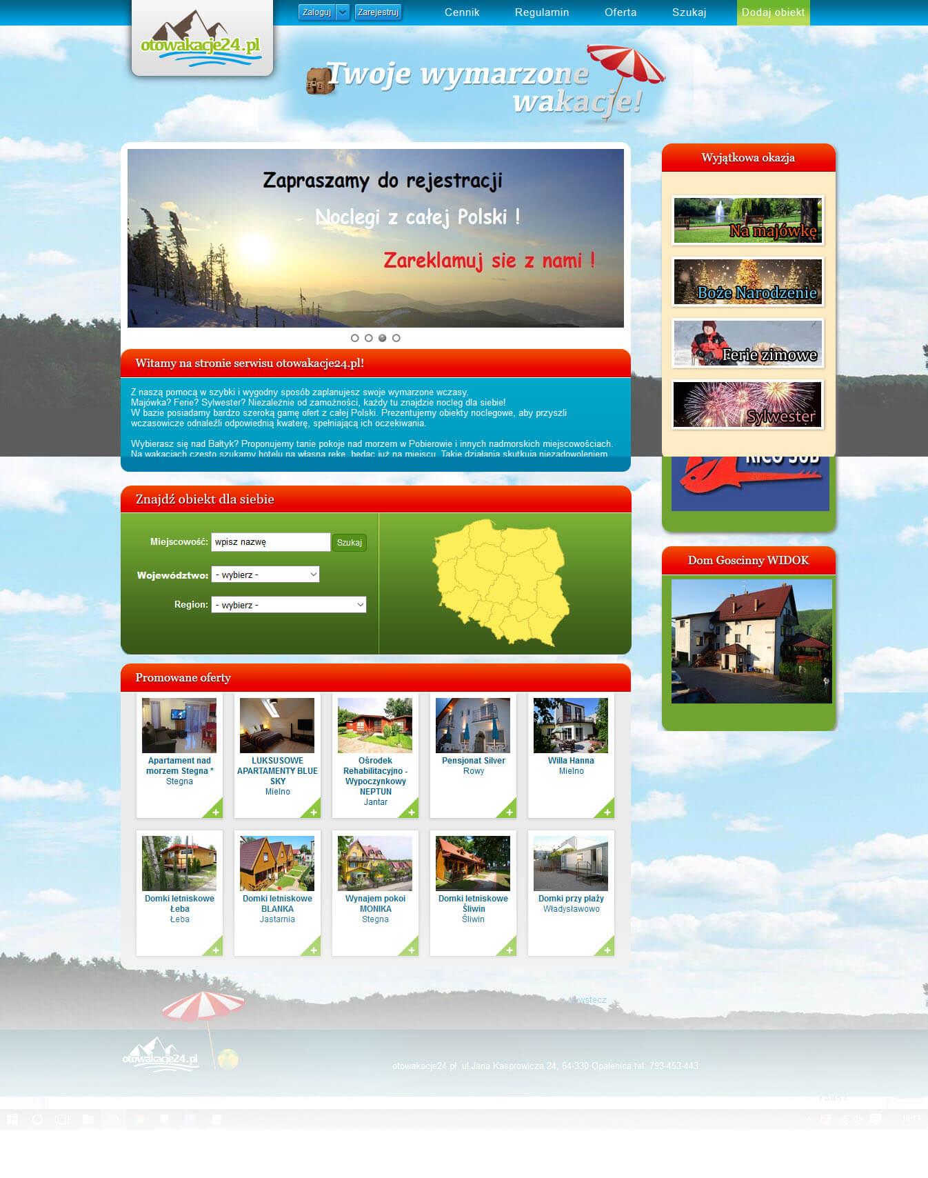 Rejse hjemmesider<div style='clear:both;width:100%;height:0px;'></div><span class='cat'>Joomla, Rejse hjemmesider</span>