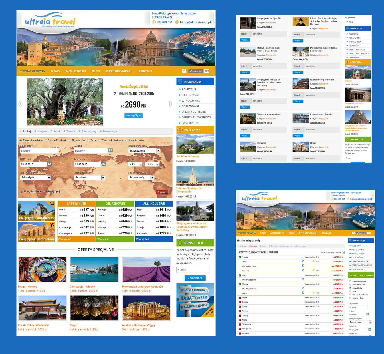 Rejse Hjemmeside<div style='clear:both;width:100%;height:0px;'></div><span class='cat'>Joomla, Rejse hjemmesider</span>